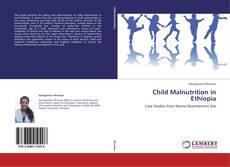 Portada del libro de Child Malnutrition in Ethiopia