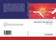 Bookcover of Operations Management