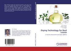 Couverture de Drying Technology for Basil Leaves
