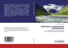 Couverture de Субстрат в топонимии Забайкалья