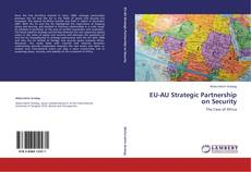Buchcover von EU-AU Strategic Partnership on Security
