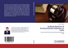 Обложка Judicial Activism & Environmental Pollution in India