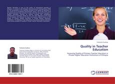 Portada del libro de Quality in Teacher Education