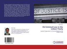 Bookcover of EU Criminal Law in the Lisbon Treaty