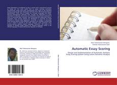 Bookcover of Automatic Essay Scoring