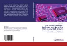 Bookcover of Theory and Design of Analogue and Numerical Elementary NGD Circuits