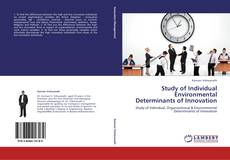 Bookcover of Study of Individual  Environmental Determinants of Innovation