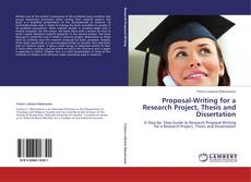 Capa do livro de Proposal-Writing for a Research Project, Thesis and Dissertation