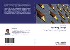 Bookcover of Housing Design