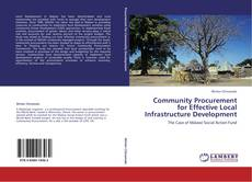 Bookcover of Community Procurement for Effective Local Infrastructure Development