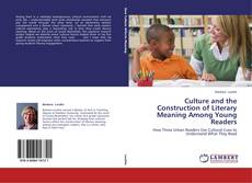 Buchcover von Culture and the Construction of Literary Meaning Among Young Readers