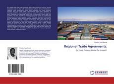 Capa do livro de Regional Trade Agreements: