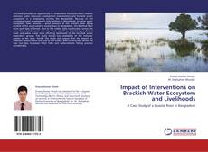 Buchcover von Impact of Interventions on Brackish Water Ecosystem and Livelihoods