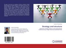 Portada del libro de Strategy and structure