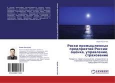 Portada del libro de Риски промышленных предприятий России: оценка, управление, страхование