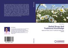 Couverture de Herbal Drugs And Traditional Knowledge