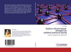 Bookcover of Sodium silicate based   aerogels via  ambient pressure drying