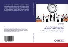 Copertina di Faculty Management Practices in Universities