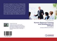 Bookcover of Human Resource Training and Development  in Ethiopia