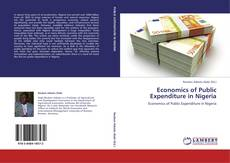 Bookcover of Economics of Public Expenditure in Nigeria
