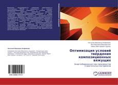 Bookcover of Оптимизация условий твердения композиционных вяжущих