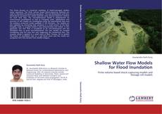 Bookcover of Shallow Water Flow Models for Flood Inundation