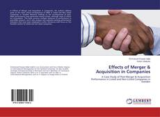Effects of Merger & Acquisition in Companies的封面