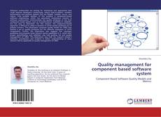 Quality management for component based software system kitap kapağı
