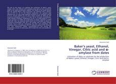 Buchcover von Baker's yeast, Ethanol, Vinegar, Citric acid and α-amylase from dates