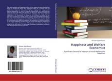 Portada del libro de Happiness and Welfare Economics