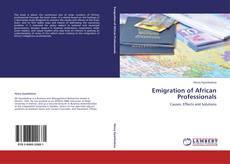 Emigration of African Professionals kitap kapağı