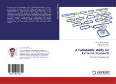 Bookcover of A Panoramic study on Extreme Research