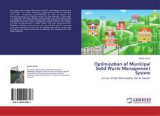 Copertina di Optimization of Municipal Solid Waste Management System