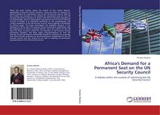 Bookcover of Africa's Demand for a Permanent Seat on the UN Security Council