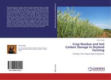 Bookcover of Crop Residue and Soil Carbon Storage in Dryland Farming