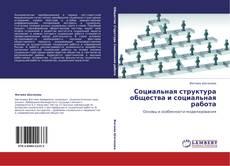 Bookcover of Социальная структура общества и социальная работа