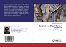 Capa do livro de Karail: A land for Informal Urbanism