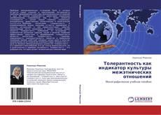 Portada del libro de Толерантность как индикатор культуры межэтнических отношений