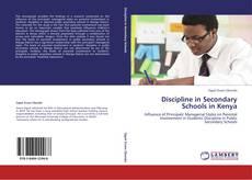 Bookcover of Discipline in Secondary Schools in Kenya