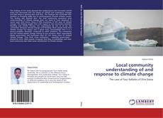 Copertina di Local community understanding of  and response to climate change