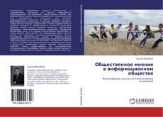 Bookcover of Общественное мнение в информационном обществе