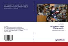 Bookcover of Fundamentals of Mathematics