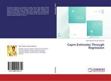 Copertina di Capm Estimates Through Regression