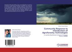 Capa do livro de Community Response to Introduction of Agroforestry Technologies