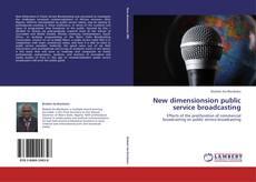 Borítókép a  New dimensionsion public service broadcasting - hoz