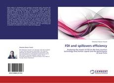 Bookcover of FDI and spillovers efficiency