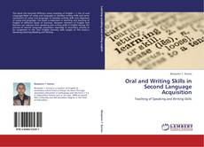Couverture de Oral and Writing Skills in Second Language Acquisition