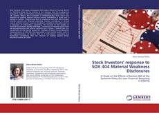Обложка Stock Investors' response to SOX 404 Material Weakness Disclosures