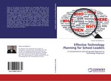 Effective Technology Planning for School Leaders kitap kapağı