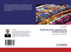 Textile Business opportunity   in New Zealand的封面